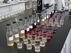 Image of Elfie shots laboratory samples in development lab